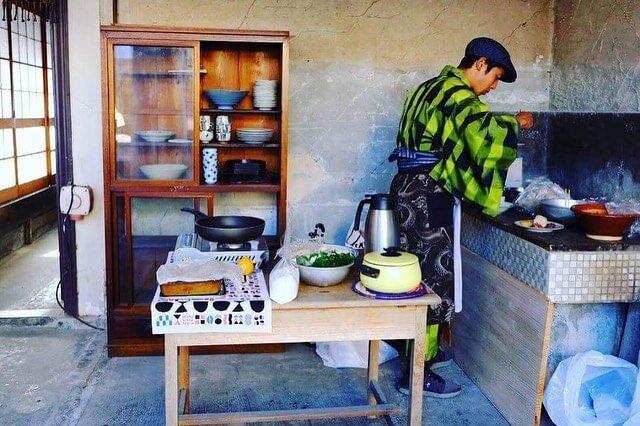 Bashi's Kitchen in 城下のmachibito 2018の様子