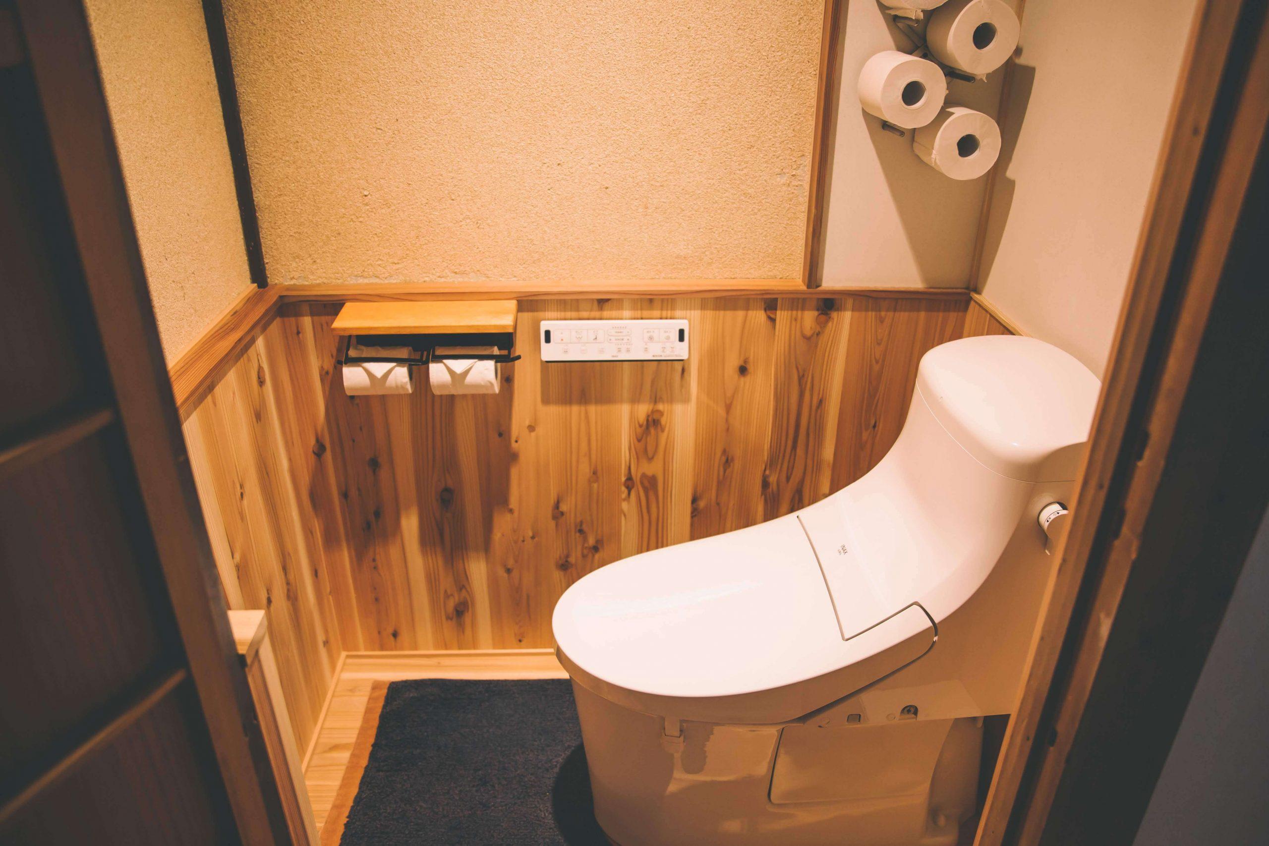 西田邸トイレ